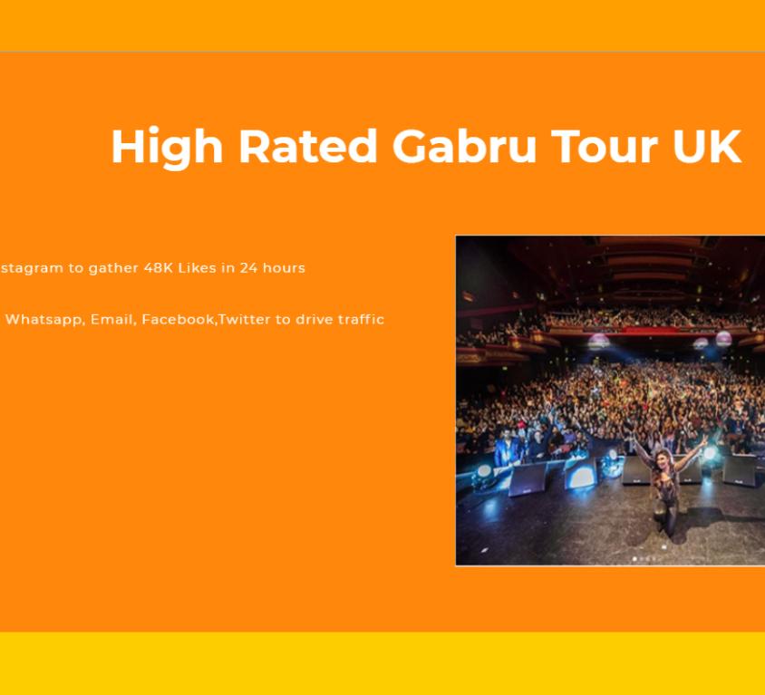 High Rated Gabru Tour UK
